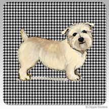 Glen of Imaal Houndzstooth Coasters