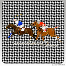 Polo Houndzstooth Coasters