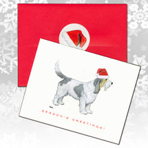 Grand Basset Griffon Vendeen Christmas Cards