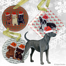 Lacy Dog Christmas Ornament