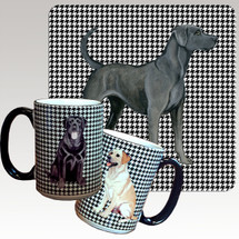 Lacy Dog Houndzstooth Mug