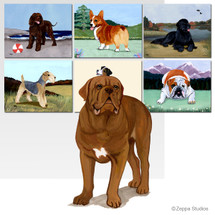 Dogue de Bordeaux Scenic Mouse Pads
