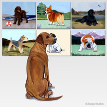 Rhodesian Ridgeback Scenic Mouse Pad - Rectangle