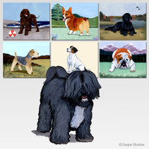 Tibetan Terrier Scenic Mouse Pad - Rectangle