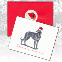 Scottish Deerhound Christmas Cards