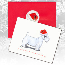 Sealyham Terrier Christmas Cards