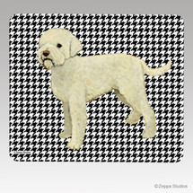 Lagatto Romagnolo Houndstooth Mouse Pad