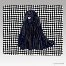 Puli Houndstooth Mouse Pad