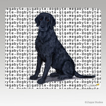 Curly Coated Retriever Megabyte Mouse Pad
