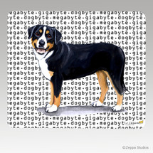 Greater Swiss Mtn Dog Megabyte Mouse Pad