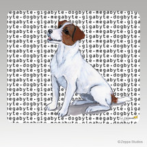 Jack Russell Terrier Megabyte Mouse Pad