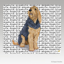 Otterhound Megabyte Mouse Pad
