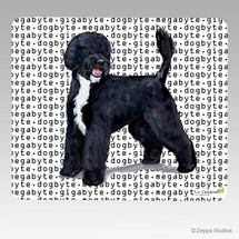Portuguese Water Dog Megabyte Mouse Pad