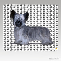 Skye Terrier Megabyte Mouse Pad - Rectangle