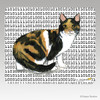 Calico Cat Megabyte Mouse Pad