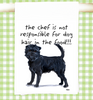 Cavalier King Charles Spaniel Home is Where the Dog Is Tea Towel