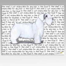 Sealyham Terrier Message Cutting Board - Rectangle
