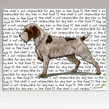 Wirehaired Pointing Griffon Cutting Board