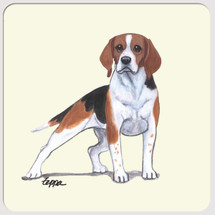 Beagle Beverage Coasters