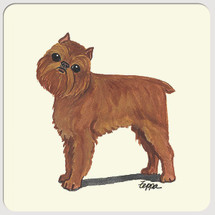 Brussels Griffon Beverage Coasters