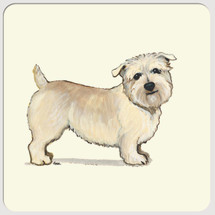 Glen of Imaal Terrier Beverage Coasters
