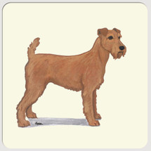 Irish Terrier Beverage Coasters