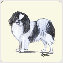 Japanese Chin Beverage Coasters