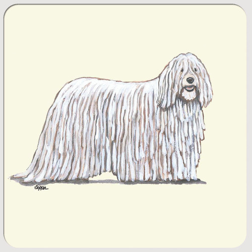 Komondor Beverage Coasters