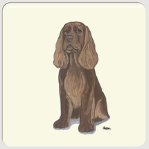 Sussex Spaniel Beverage Coasters