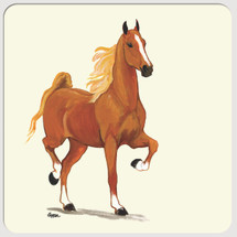 Saddlebred Horse Beverage Coasters