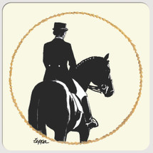 Dressage Beverage Coaster