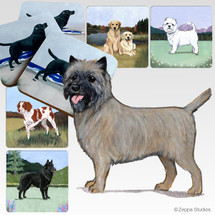 Cairn Terrier Scenic Coasters