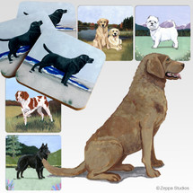 Chesapeake Bay Retriever Scenic Coasters
