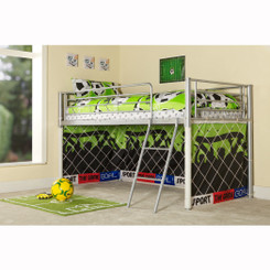 CHILDRENS GOAL METAL MID SLEEPER