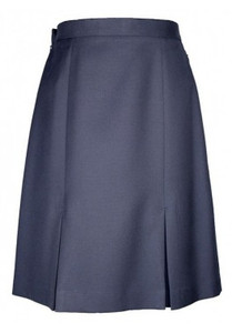 Skirt - 2 Pleat - Navy