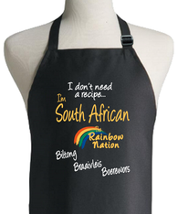 SOUTH AFRICAN RECIPE APRON