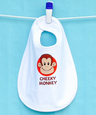 BIB - CHEEKY MONKEY