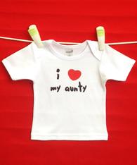 BABY TEE - AUNTY LOVE