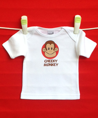 BABY TEE - CHEEKY MONKEY