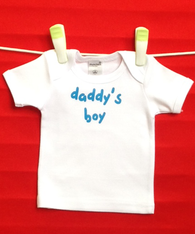 BABY TEE - DADDY'S BOY