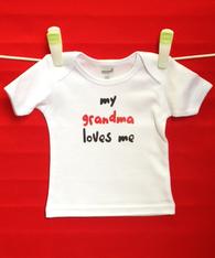 BABY TEE - GRANDMA LOVE