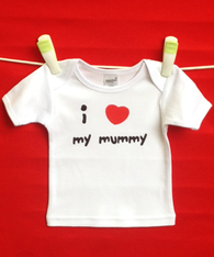 BABY TEE - MUMMY LOVE