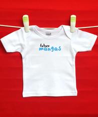 BABY TEE - GREEK COOL DUDE - MANGAS