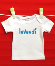 BABY TEE - GREEK FINE & BRAVE LEVENDI
