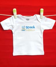 BABY TEE - GREEK GODDESS