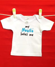 BABY TEE - GREEK GODFATHER - NOONO