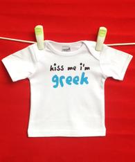 BABY TEE - GREEK KISS ME