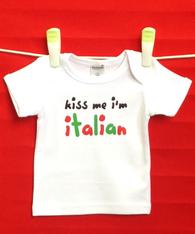 BABY TEE - ITALIAN KISS ME