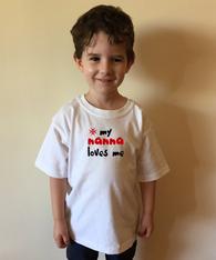 1. SAMPLE ONLY: KIDS TEE - MALTESE GRANDMA