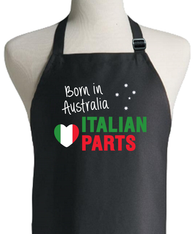 ITALIAN PARTS BORN IN AUSTRALIA APRON